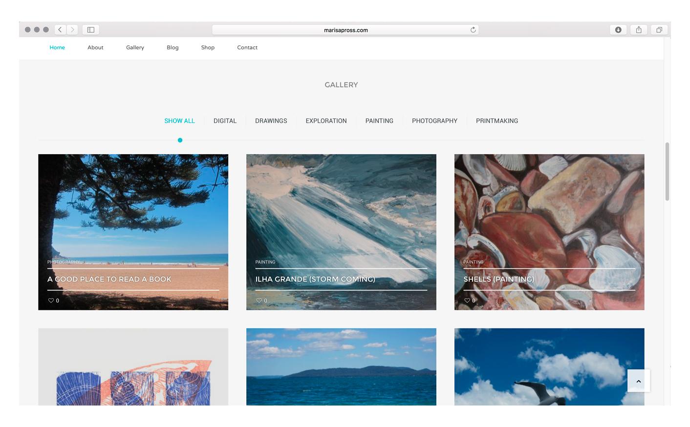 Marisa-Website