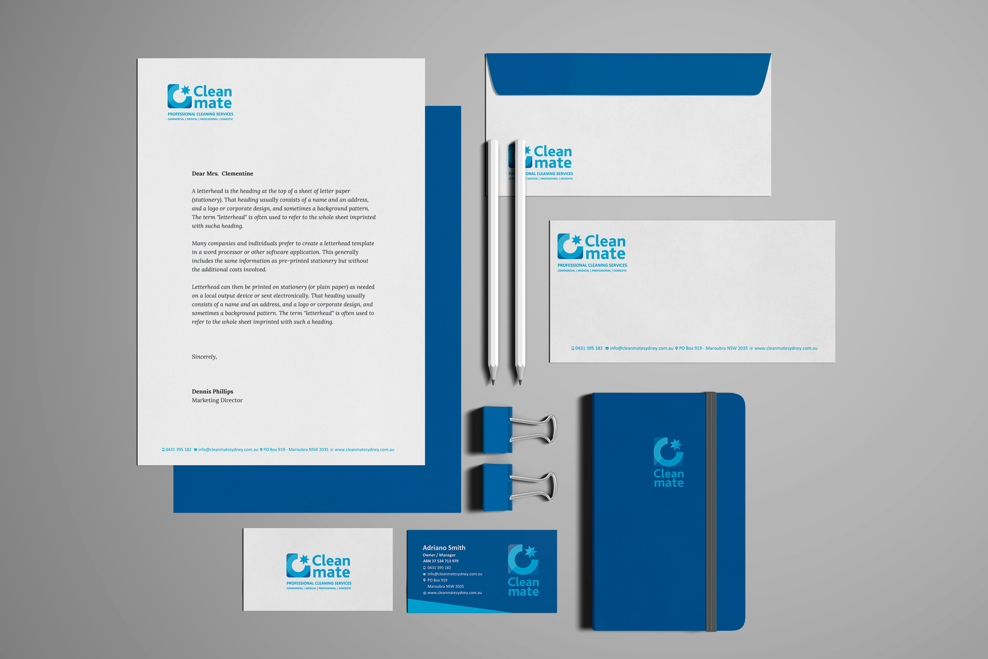 Cleanmate Stationery